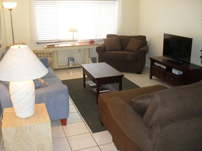 Relax on Siesta Key.  Our unit sleeps 4.