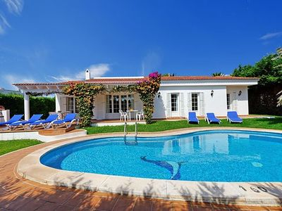 Villa Mar I Cel , Binibeca - only 450m from the sandy beach, 200m to shops
