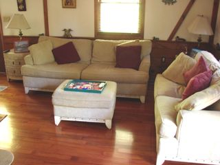 Newfound Lake house photo - Living Room