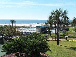 Fort Morgan condo photo - View from our extra large balcony