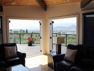 Kelowna house photo - Living Room; Deck & View