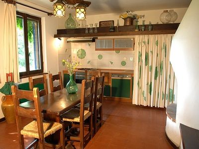 Orte villa rental - The kitchen