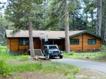 Tamarack cabin rental - Spring in Beautiful Bear Valley
