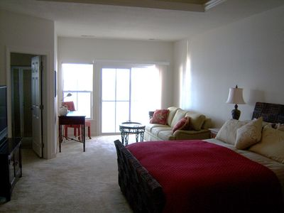 Ocean View townhome rental - 3rd floor master suite