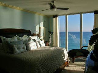 Navarre Beach condo photo - The Master suite with its own million-dollar view!