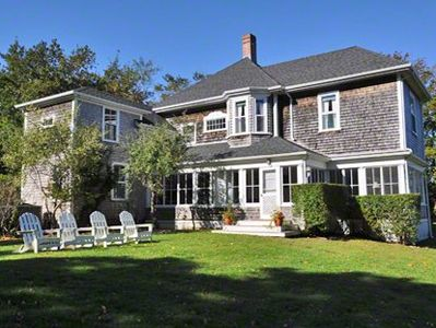 Edgartown house rental - Stately Edgartown Village Victorian