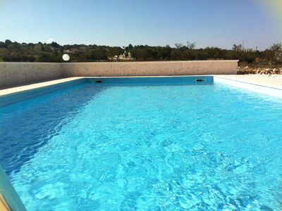 Alberobello villa rental - 10m x 5m private swimming pool