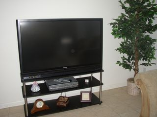 Windsor Palms house photo - Big screen television with DVD/ VCR player