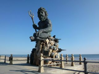 Virginia Beach condo photo - King Neptune Statue at 31st Street