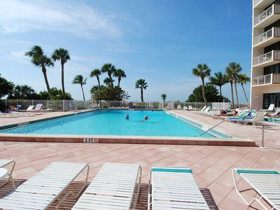 Gulfview Club condo rental - Beachfront Pool