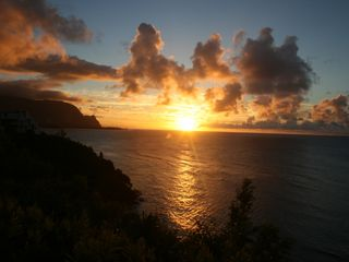 Princeville condo photo - The sunsets at Puu Poa are magical