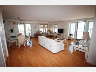 Old Orchard Beach condo photo - Open Living Room with Oceanfront Views