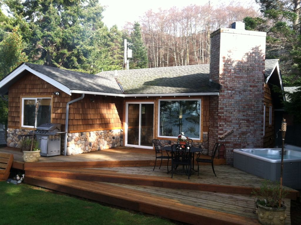 whidbey island waterfront cabin best sunsets vrbo