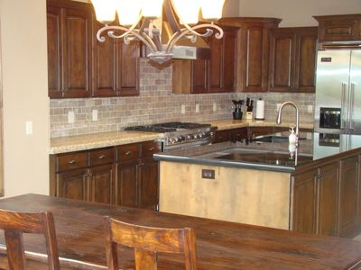 Midway Utah Vacation Home Kitchen All Viking Stainless Steel Appliances