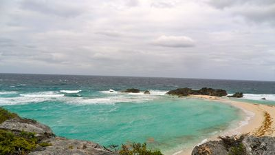 Take a trip to Middle Caicos to see Mudjin Harbor