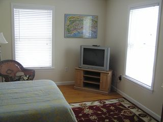 Oak Bluffs house photo - Down Stairs Bedroom With T.V.