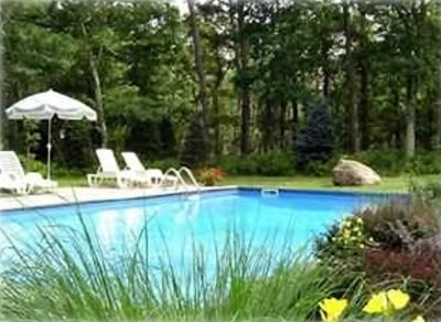 Heated, Separately Fenced 20'x40' swimming pool with Gardens