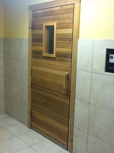relax in our community sauna