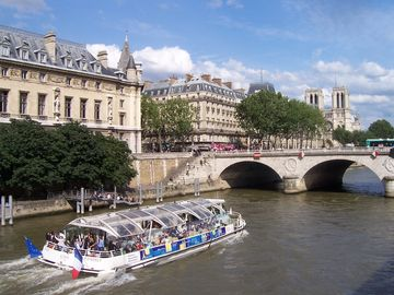 Seine river boat tour