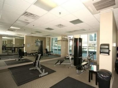Well equipped gymnasium and fitness studio...
