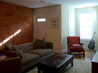 Logan Circle townhome photo - Living Room
