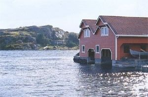 Cottage on the fjord for 5 persons incl. boat