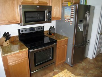 Kitchen with Granite and All New High-End Appliances