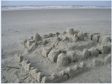 Build your own sandcastle!
