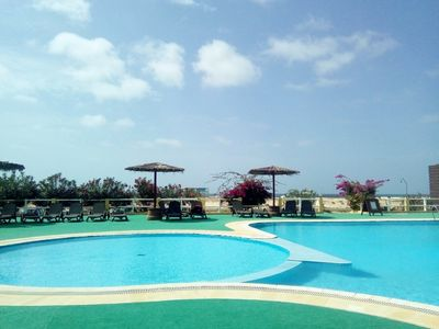 Seafront Extra Large Lux 2 Bed/2 Bath Apt Sea /Pool Views.WiFi. AirCon.
