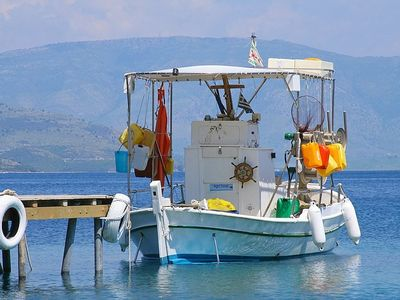 Kassiopi is a Traditional Fishing Village