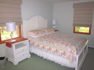 Wellfleet house photo - Queen bedroom-located on 1st floor