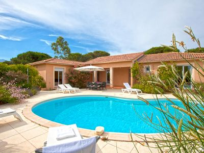 Terrific location within walking distance of calvi sandy beach and old town