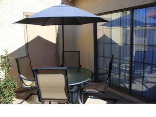 Chandler condo photo - Private patio for outdoor dining and relaxing