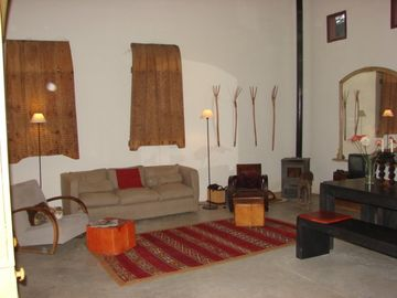 Sitting room of Barn
