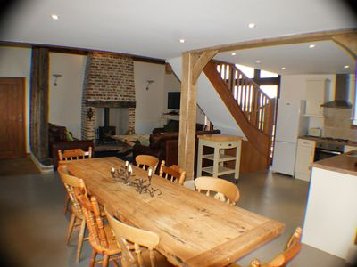 Jepcrack 39 s barn 3 unique gites 4 upmarket spacious barns Barn plans with living area