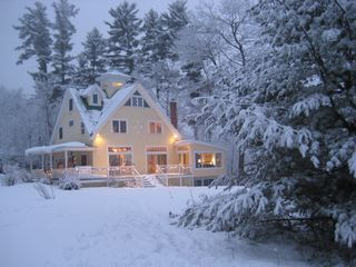 North Conway house photo - Eagles View in Winter