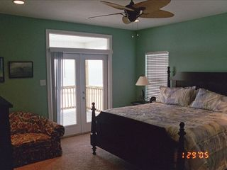 Dauphin Island house photo - View of one Master Bed Room, Quiet, Relaxing, Peac