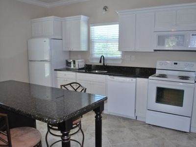 Large Kitchen with Granite Countertops