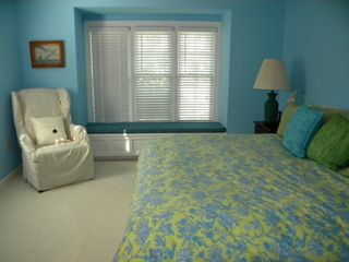 Murrells Inlet cottage photo - Master suite with new TV; king bed converts to 2 twins; private bath.