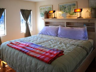 Tannersville farmhouse photo - King Bedroom.