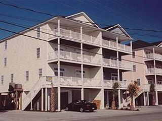 Cherry Grove Beach house photo - Exterior from Ocean Blvd