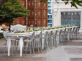 Brickell apartment photo - Outdoor Dining at pool area