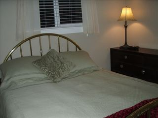 Parksville house photo - This cosy bedroom is a tranquil place