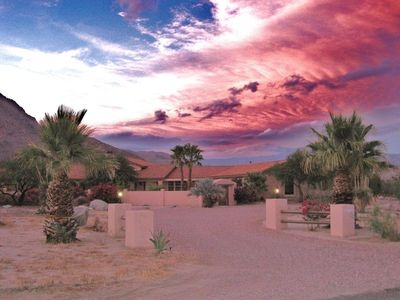 Enjoy Spectacular Desert Sunsets at Hacienda La Verbena!