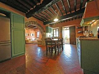 Gaiole in Chianti villa photo - Kitchen and exit to Patio