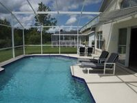 4 bed 2.5 bathroom pool home villa that overlooks conservation with games room at Westridge near Disney, Orlando