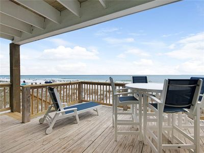 Newly Renovated, Gulf Front Townhome, Great Views