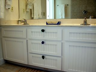 Kiawah Island house photo - Upstairs master vanity