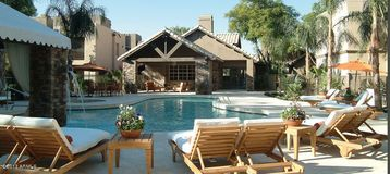 Scottsdale North condo rental - Sparkling Pool, Hot tub, barbeques and open air Casita