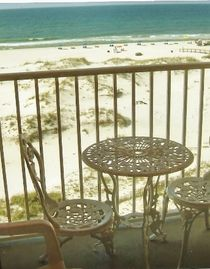 Fort Morgan condo rental - Looks Like the Surf is Down Today at 'Surf's Up'!